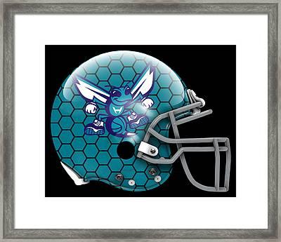 Hornets What If Its Football Framed Print by Joe Hamilton