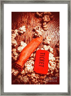 Horror Film Concept Framed Print by Jorgo Photography - Wall Art Gallery
