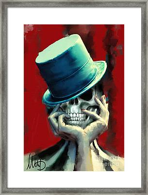 Horror Freak Framed Print by Melanie D