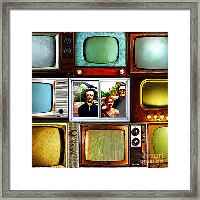 Horror Movie 20150928square Framed Print by Wingsdomain Art and Photography