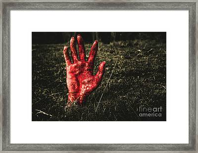 Horror Resurrection Framed Print by Jorgo Photography - Wall Art Gallery
