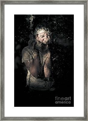 Horror Framed Print