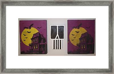Horror Stories Framed Print by William Douglas