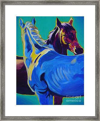Horse - Friendship Framed Print