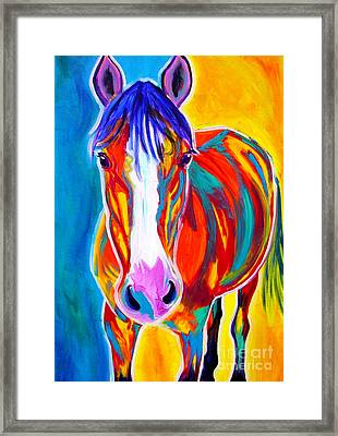 Horse - Pistol Framed Print by Alicia VanNoy Call