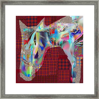 Horse 2 Framed Print by Dave Kwinter