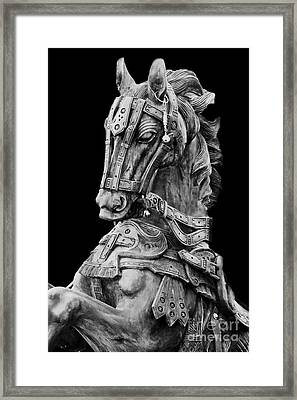 Horse  Framed Print by Charuhas Images