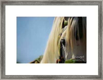 Horse Face 0968 Framed Print