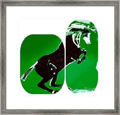 Horse Gustavo Framed Print by Felix Von Altersheim