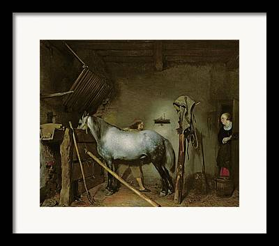 Gerard Terborch Framed Prints