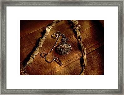 Horse In My Pocket Framed Print by Daniel Alcocer