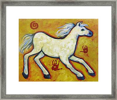 Horse Indian Horse Framed Print