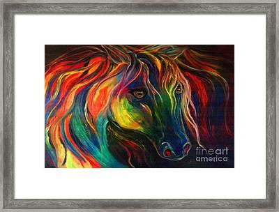Horse Of Hope Framed Print