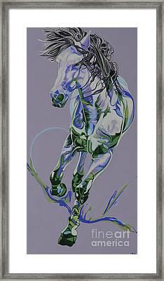 Horse Portrait 564h Framed Print by Yaani Art