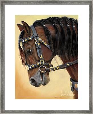 Horse Portrait  Framed Print by Svetlana Ledneva-Schukina