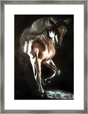 Horse Power Framed Print