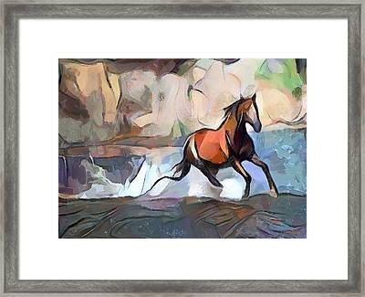 Horse Power Framed Print by Wayne Pascall