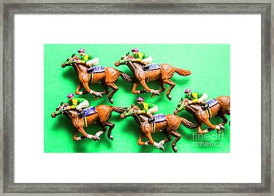 Horse Racing Carnival Framed Print by Jorgo Photography - Wall Art Gallery