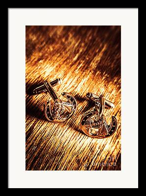 Cufflinks Framed Prints
