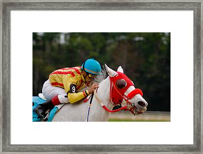 Horse Racing Framed Print by Patrick  Flynn