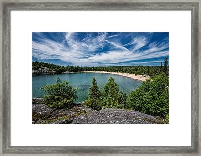 Horse Shoe Bay Framed Print