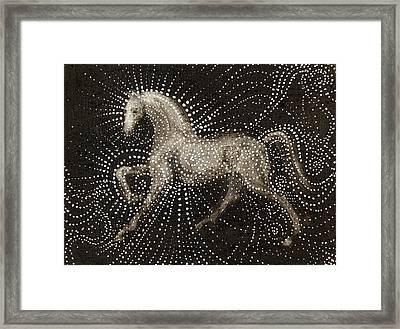 Horse Framed Print by Sophy White