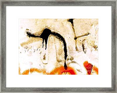 Horse With Heart Framed Print