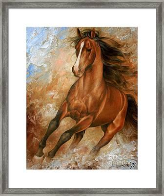 Horse1 Framed Print by Arthur Braginsky