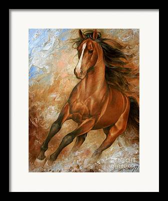 Wild Horse Framed Prints