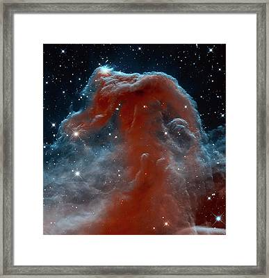Horsehead Nebula Framed Print by Mark Kiver