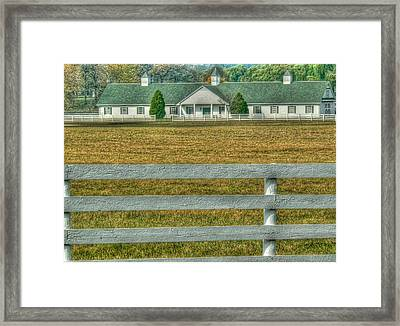 Horseland Framed Print by David Bearden