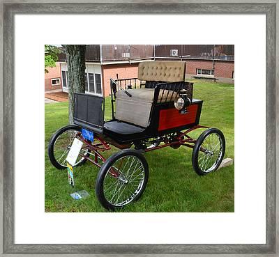 Horseless Carriage-c Framed Print