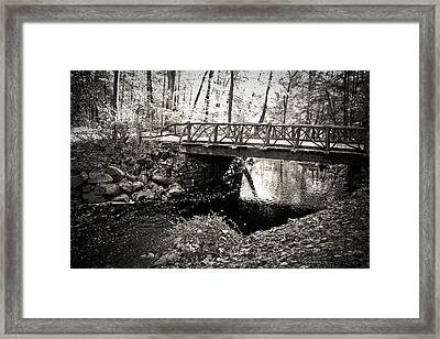 Horseman's Bridge -sleepy Hollow Framed Print by Colleen Kammerer