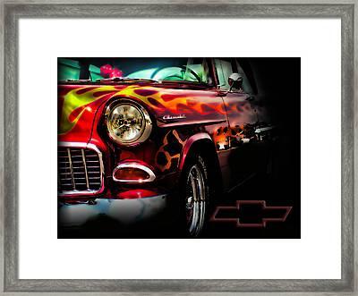 Horsepower Framed Print by Kenneth Krolikowski