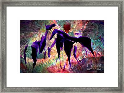 Horses 13 Framed Print