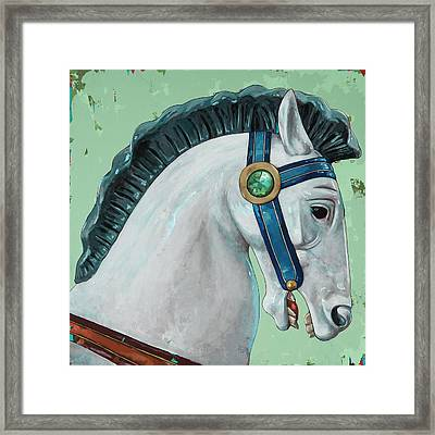 Horses #4 Framed Print by David Palmer