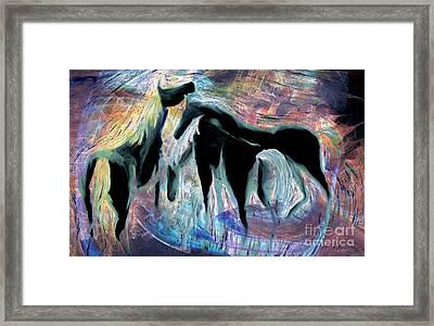 Horses 7 Framed Print
