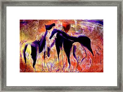 Horses 8 Framed Print