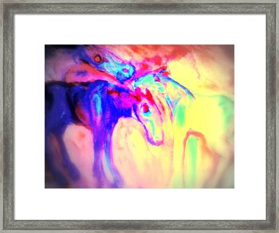 You Can Tell Your Secret To The Horses But To Nobody Else  Framed Print