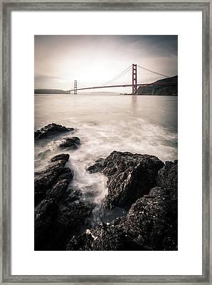 Horseshoe Bay Framed Print by Michael Weber