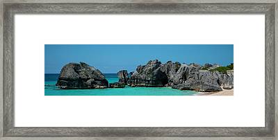 Framed Print featuring the photograph Horseshoe Bay by Ryan Smith