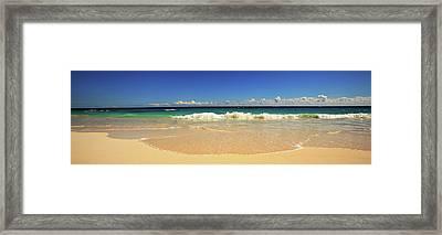 Horseshoe Beach Framed Print by Lori Goodwin