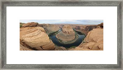 Horseshoe Bend Pre Dawn Framed Print