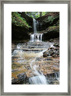 Horseshoe Falls #6735 Framed Print