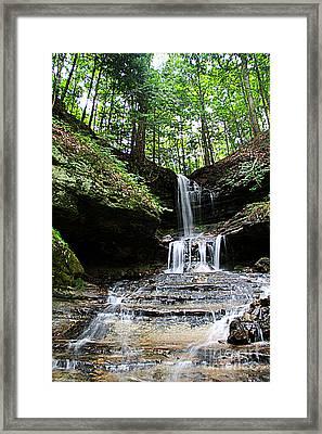 Horseshoe Falls #6736 Framed Print