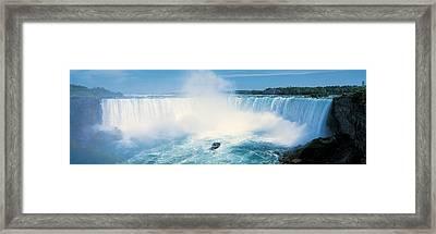 Horseshoe Falls, Niagara Falls Framed Print by Panoramic Images