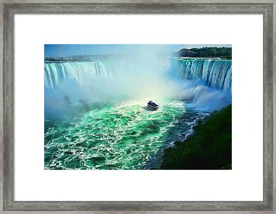 Horseshoe Falls Niagara Framed Print