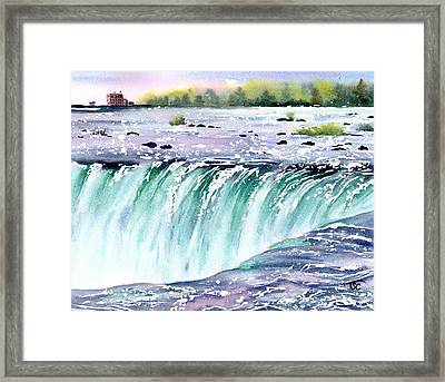 Horseshoe Falls Framed Print by Tammy Crawford