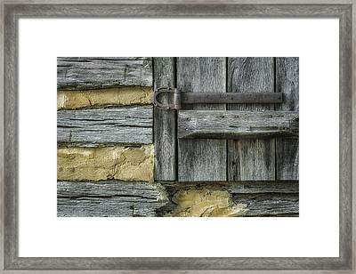 Horseshoe Hardware Framed Print