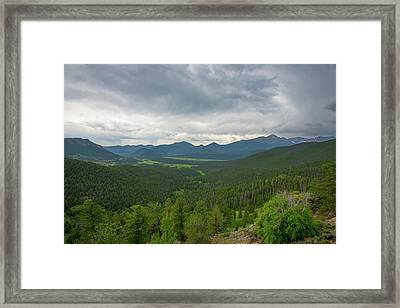 Horseshoe Park From Rainbow Curve 2 Framed Print
